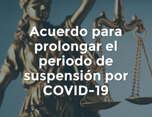 TJA del Edomex. Amplia suspensión de actividades a Junio 2020.