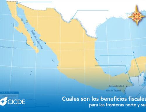 Cuáles son los beneficios fiscales para las fronteras norte y sur