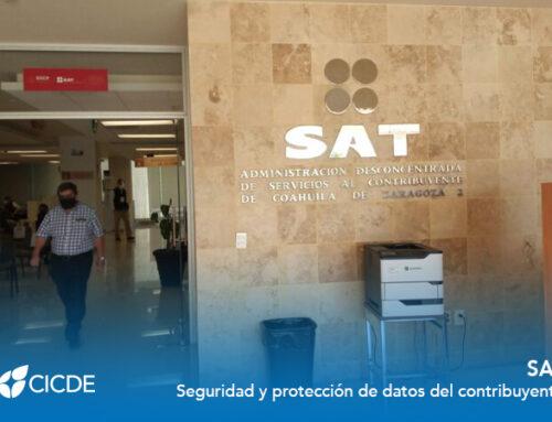 SAT. Seguridad y protección de datos del contribuyente