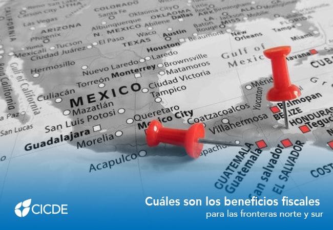 beneficios fiscales para las fronteras