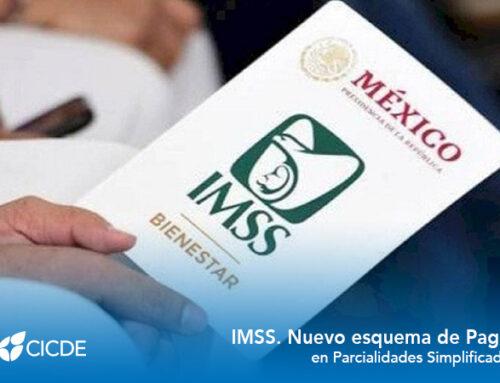 IMSS. Nuevo esquema de pago en parcialidades simplificado.