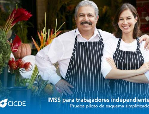 IMSS para trabajadores independientes. Prueba piloto de esquema simplificado.